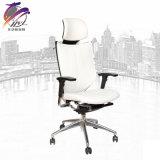 Ajustable con de los apoyabrazos del apoyo para la cabeza la silla ejecutiva de la oficina de la PU de la parte posterior arriba