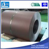Hoja de acero galvanizada prepintada en bobina