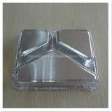 Контейнер алюминиевой фольги 3 отсеков устранимый