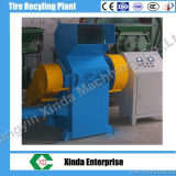 Os pneus Waste que recicl a borracha da máquina lascam o triturador grosseiro
