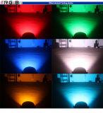 1つのIP65 7PCS 25W LEDの段階の同価ライトに付きRgbwy 5つ