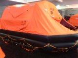 Aprobación de CCS que lanza la balsa salvavidas inflable para 10 personas