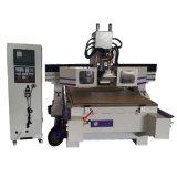 Auto CNC da mudança da ferramenta que cinzela a máquina de gravura da máquina