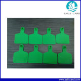 Wasserdichtes Imported TPU 75*60mm Animal Ear Tag