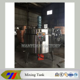 double couche Mixing Vessel de 1t Gas Heating