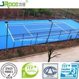 De antislip RubberVloer van het Hof van de Sporten van het Tennis van het Polyurethaan