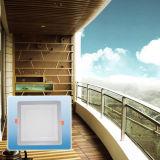 능률적인 에너지 절약 두 배 색깔 사각 옥수수 속 Light/LED에 의하여 중단되는 빛
