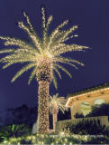 La luz del árbol del LED de coco Navidad para decoración del parque