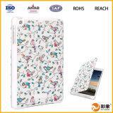 Caixa de couro Anti-Shock da tabuleta do ODM para o caso do iPad