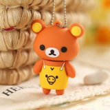 USB encantador Pendrive de la historieta del palillo de la memoria del USB del oso