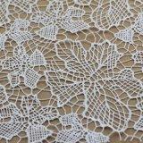 Telas hechas punto ganchillo del cordón para la ropa/las ropas