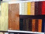 Unità di elaborazione Synthetic Leather di Pattern del coccodrillo per Shoes (HS11Q)