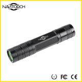 CREE XP-E nachladbarer Taktik-Typ wasserdichte LED-Taschenlampe (NK-638)