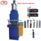 Máquina moldando da micro injeção do PVC para o extrator do Zipper do PVC/máquina principal do PVC (LX-P008)