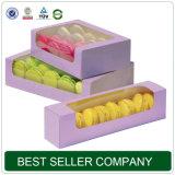 Коробки конструкции способа упаковки еды высокого качества с коробкой подарка печенья картона бумаги окна PVC