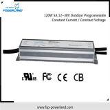 Driver corrente/costante costante programmabile esterno 120W 5A di tensione LED
