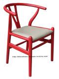 Ristorante moderno della mobilia che pranza la presidenza di legno di Y ricoperta caffè