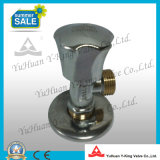 Válvula de globo de bronze conservada em estoque do ângulo do encanamento (YD-I5022)
