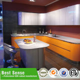 Module de cuisine en verre en aluminium modulaire de Guangzhou