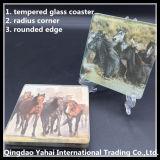 Coaster 5 mm templado vidrio / vidrio Placemat