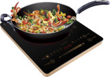 2000Wノブ制御そしてタュチ・コントロール電気誘導の炊事道具対赤外線炊事道具
