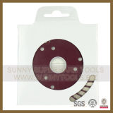 Turbo Frío-Pressed Sinterizado Diamond Blade para Marble Granite y Concrete