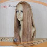 Польностью людской парик женщин верхней части кожи волос цвета Omber