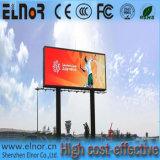 Muestra al aire libre a todo color de Shenzhen SMD P10 LED para hacer publicidad