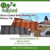 Azulejo de material para techos revestido de piedra (azulejo romano)
