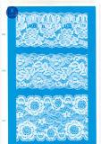 Het Kant van de wimper voor Kleding/Kledingstuk/Schoenen/Zak/Geval J023 (breedte: 4.5cm23cm)