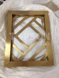 Cloison de séparation décorative en métal d'acier inoxydable