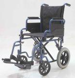 Manuale, presidenza di trasporto e piegatura d'acciaio, sedia a rotelle, (YJ-026E)
