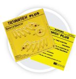 Tiltwatch plus Abzeichen-Neigung-Winkel-Anzeiger