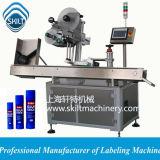 Máquina de etiquetado de papel del tubo de Compositum de la etiqueta engomada automática