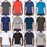 Camisas livres dos homens T do desgaste da ginástica da cor