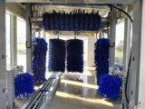 Máquina completamente automática del vapor del equipo de sistema de la lavadora del coche para la colada rápida de la fábrica de la fabricación de la limpieza 7 cepillos