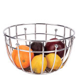 Cesta de fruta de gran tamaño creativa europea del color del acero inoxidable del acoplamiento