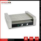 Machine électrique commerciale Kg-11 de casse-croûte de gril de hot-dog de Sauage