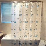 사랑스러운 욕조 PEVA는 목욕탕을%s 샤워 커튼을 방수 처리한다