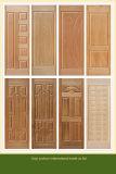 Het houten Comité van de Huid van de Deur van de Melamine van de Korrel met Kern HDF