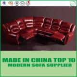 L elegante luxuoso sofá do Recliner do couro genuíno da forma