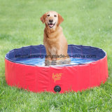Piscina del perrito de la natación del PVC
