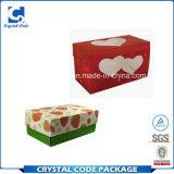 Экологическая бумажная упаковывая коробка с ясным окном