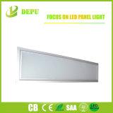Luz del panel ahuecada LED libre de la luz del panel 300X1200 del parpadeo ultrafino para el propósito comercial