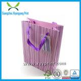 Impresión de papel modificada para requisitos particulares del bolso del conjunto de las compras del regalo