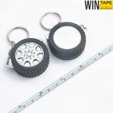Ha stampato la vostra figura mini Keychain promozionale su ordinazione d'acciaio della rotella di marca