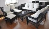 Insieme di vimini del sofà del rattan di stile domestico
