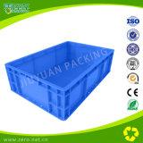 Recipiente di plastica di bassa potenza di logistica di colore blu