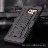 Случай крышки сотового телефона галактики S7 S6 S5 S4 Samsung аргументы за панцыря высокого качества PC+Silicone Китая оптовый комбинированный