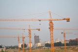 Chargement maximal de la grue à tour de matériel de construction de fournisseur de la Chine Qtz50 (5008) : chargement 4t/Tip : 0.8t